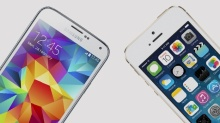 i-Phone 5s vs Samsung S5