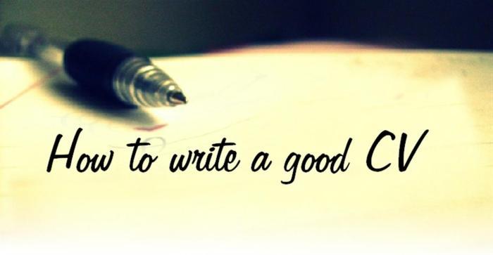 How_Write_CV