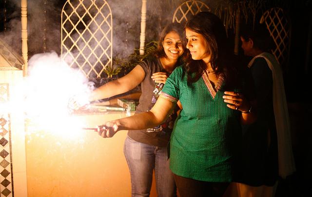 Diwali-fun-girls