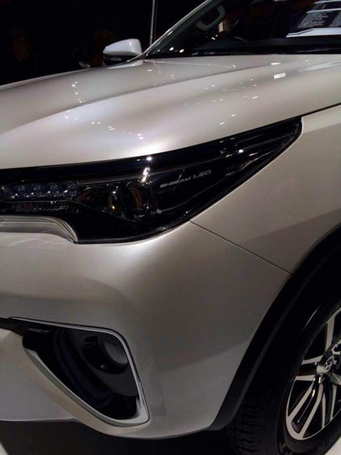 2016 Fortuner seven-seat SUV